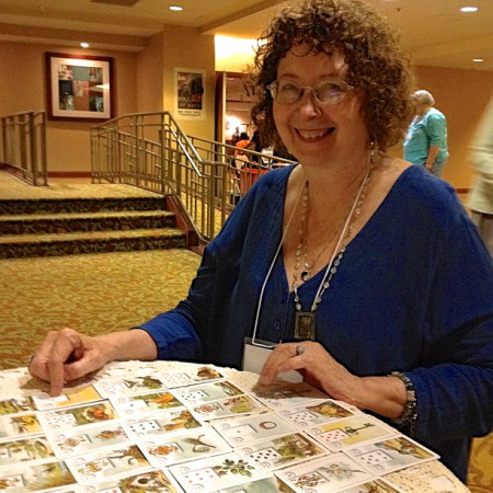 Mary reading Lenormand cards