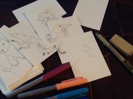 KiRC Lenormand drawings