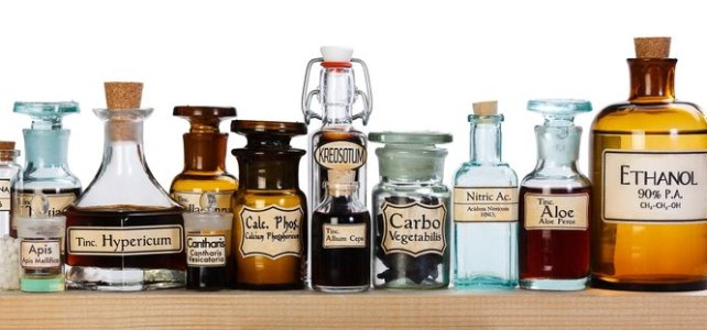 YOMS - apothecary bottles